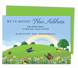 Openoffice Business Card Template 14 Best Images About Moving Announcements New Address