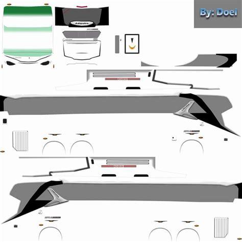 template livery efek  hd shd png bus simulator indonesia  aja