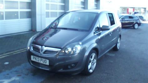 vauxhall zafira 2013 used 2013 vauxhall zafira 1 8i sri 5dr for sale in greater