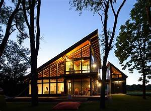 Cool, Lake, Home, Designed, To, Enjoy, The, Views, And, Create, Art