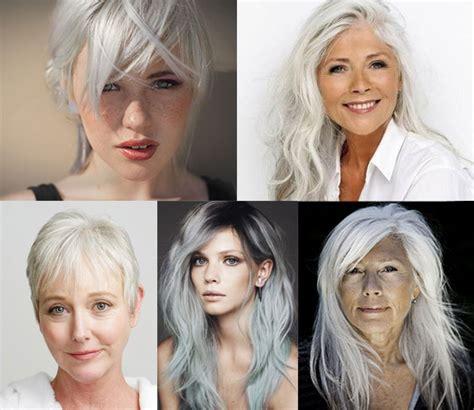 couvrir cheveux blancs sans coloration coiffure en image