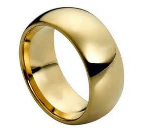 gold mens wedding bands tungsten carbide 18k gold dome wedding engagement band promise ring mens classic ebay