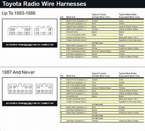 99 Corolla Radio Wiring Diagram