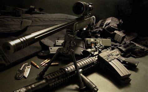 sniper cool guns wallpaper widescreen wallpaper