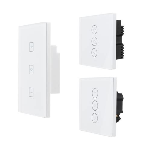 wifi smart dimmer light wall switch touch remote control
