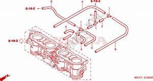 Throttle Body  Tubing   X  Y  For Honda Cbr 1100 Super
