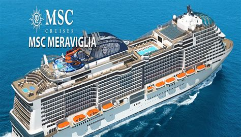"""MSC Meraviglia after """"Flag Ceremony"""", the baptism in the ..."""