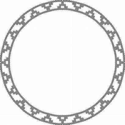 Circle Celtic Knot Frame Clipart Diamond Transparent