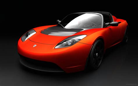Tesls Car by Tesla Roadster Sports Car Wallpaper Hd Car Wallpapers