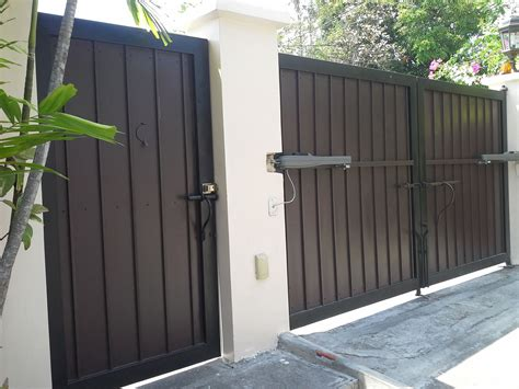 Modern Entrance Gate   Wrought Iron Railings Philippines