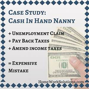 How To Pay A Nanny On The Books