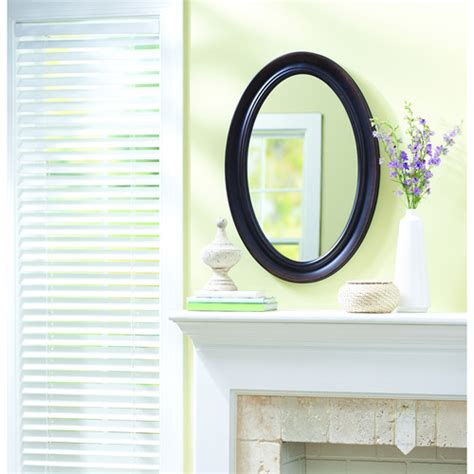 better homes and gardens valerie oval mirror other home