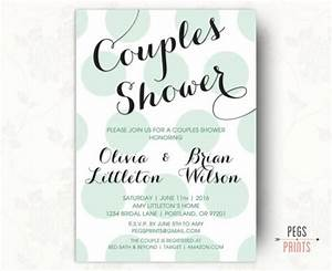 printable couples shower invitation couples wedding With who do you invite to a couples wedding shower