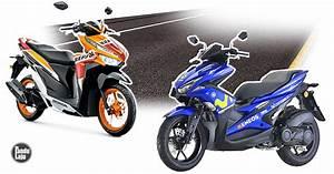 Honda Vario Vs Yamaha Nvx  Perbandingan Awal Skuter Sporty