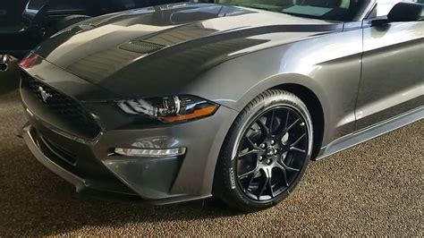 ford mustang ecoboost  awesome wheels