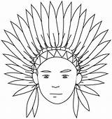 Coloring Indian Pages Indians Printable Thanksgiving Preschool Headdress Native American Clipart India Sheets Longhouse Children Kindergarten Northside Theme Books Popular sketch template