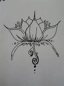 Henna Lotus Design by BurdenArrow on DeviantArt