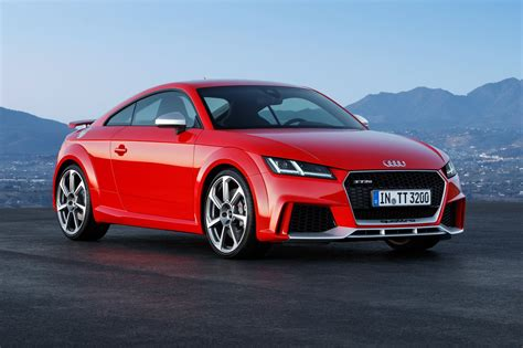 Audi Goes Porsche Hunting With New 395bhp Tt Rs Coupe And