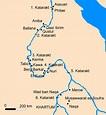 Egypt Map Nubia