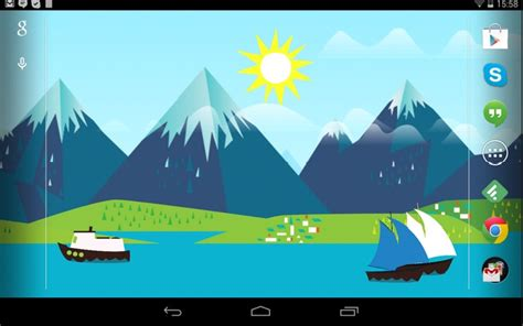 Android Animated Wallpaper Battery - beautiful android live wallpapers that won t drain your