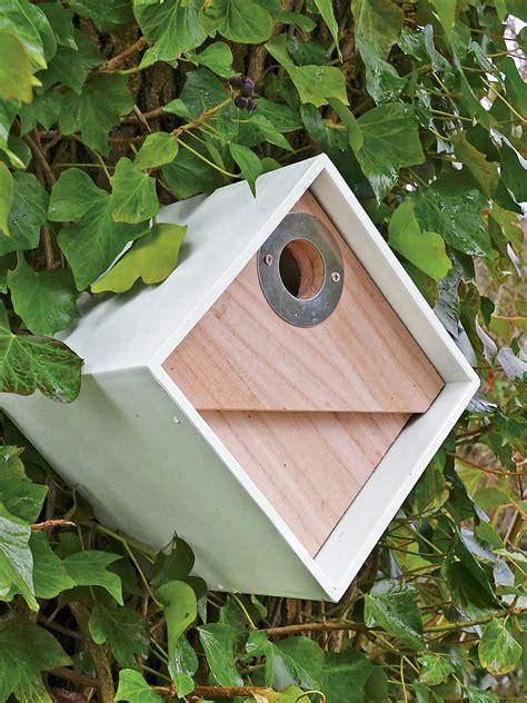 cool bird houses bird box modern birdhouse  chickadees