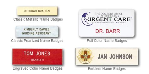 Rn Horizontal Badge Buddy With Colored Border And More Well Liked Nurses Name Tag Mn15 Advancedmassagebysara