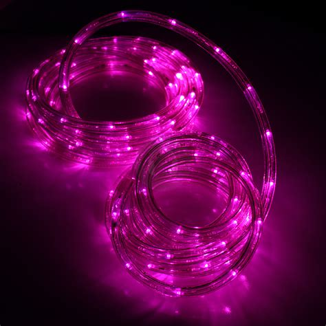 rope lights led light rope pink led