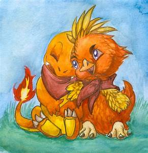 Charmander And Torchik By Bestary On Deviantart