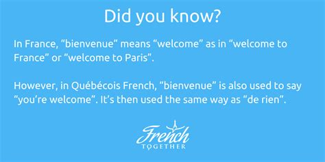 """12 Ways to Say """"You Are Welcome"""" in French 