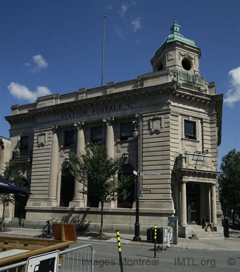 bureau de psote bureau de poste c montreal