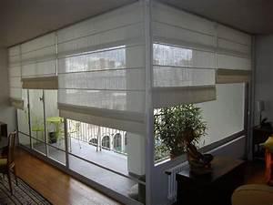 Rideau Baie Vitree : store bateau lin blanc interior pinterest store ~ Premium-room.com Idées de Décoration