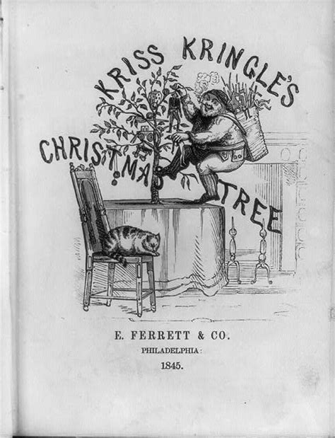 kris kringle trees monday musings tree prints and historic facts about celebrations