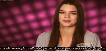 Jenner Kendall Gifs Party Quote Sayings Less