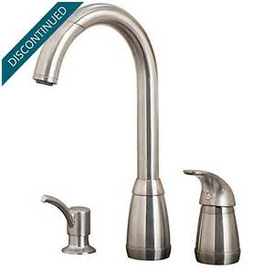 price pfister kitchen faucet warranty stainless steel contempra 1 handle kitchen faucet t526