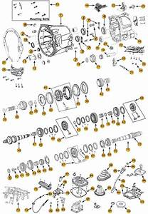 Daimler Nsg370 6-speed Transmission Parts