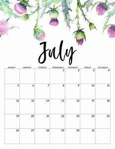 Blank Printable Calendars 2020 Free Printable Calendar Floral Paper Trail Design