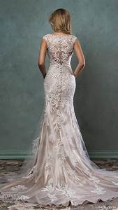 Top 100 most popular wedding dresses in 2015 part 2 for Champagne gold wedding dress