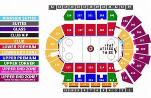 Golden One Center Seating Chart With Seat Numbers