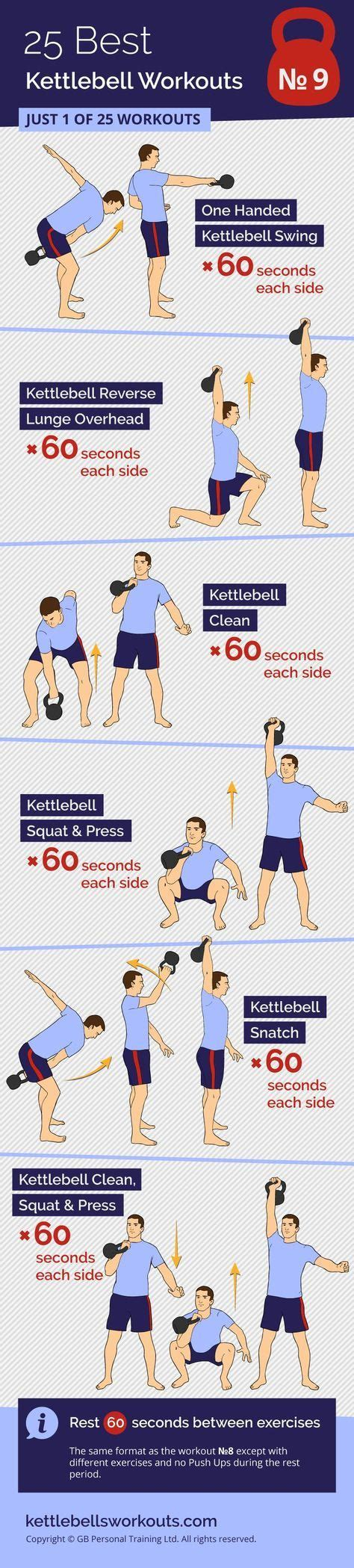 workout kettlebell routines snatch kettlebellsworkouts