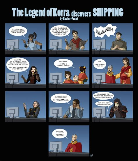 Korra Meme - the legend of korra discovers shipping avatar the last airbender the legend of korra know