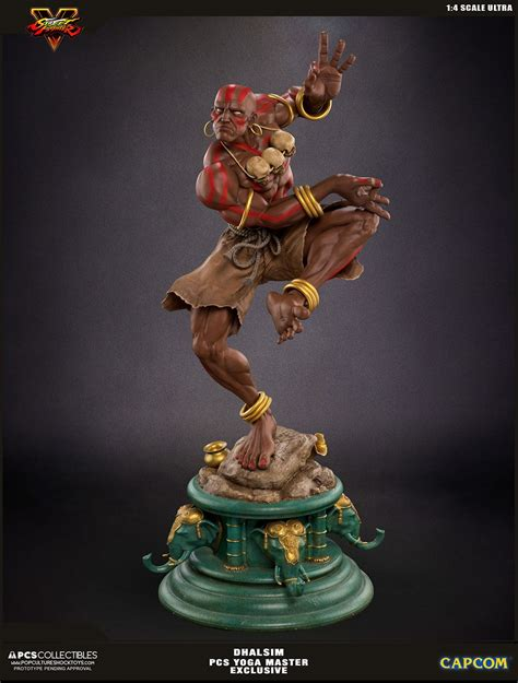 Street Fighter V Ultra Statue 14 Dhalsim Yoga Master