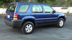 For Sale 2005 Ford Escape Xls     P5673