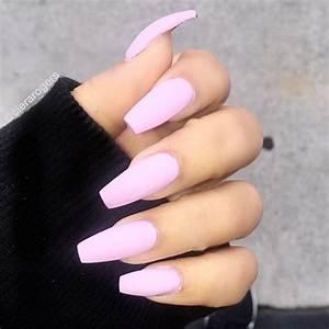 21 Outstanding Matte Pink Nails Designs | NailDesignsJournal