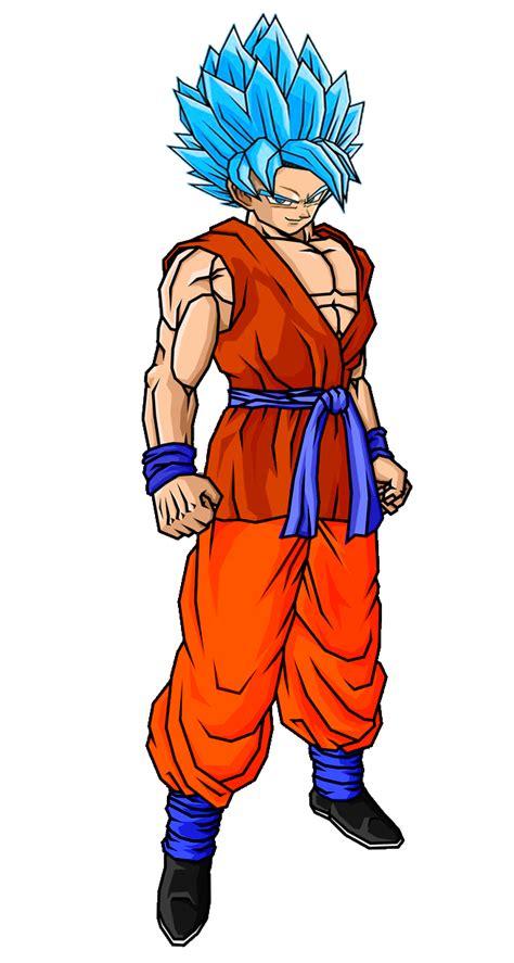 Goku New Super Saiyajin Deus by SUPERFERNANDOXT on DeviantArt