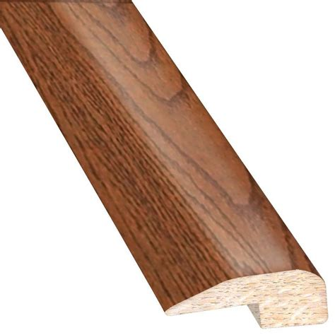 oak transition millstead unfinished oak 647 thick x 2 in wide x 78 in length t molding lm5719 the home depot