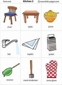 some things that need for kitchen English For Life