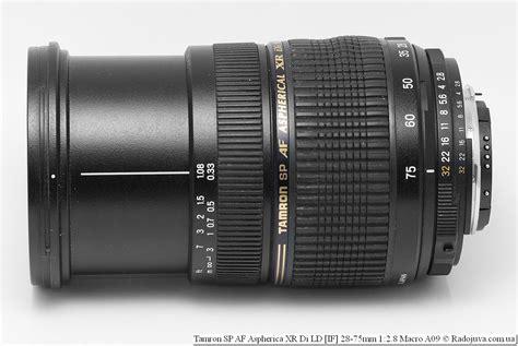 Обзор Tamron Af 28-75mm F 2.8 Sp Xr Di Ld Aspherical If