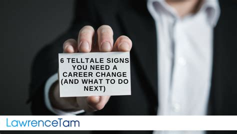 i need a career change 6 telltale signs you need a career change and what to do