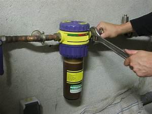 Filtre Adoucisseur D Eau : installer un adoucisseur d eau chez soi galerie photos d ~ Premium-room.com Idées de Décoration
