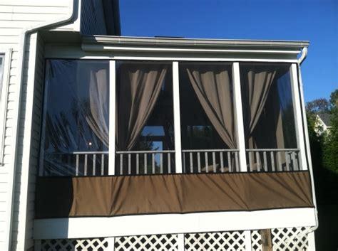 clear vinyl plastic curtain enclosures apron colors